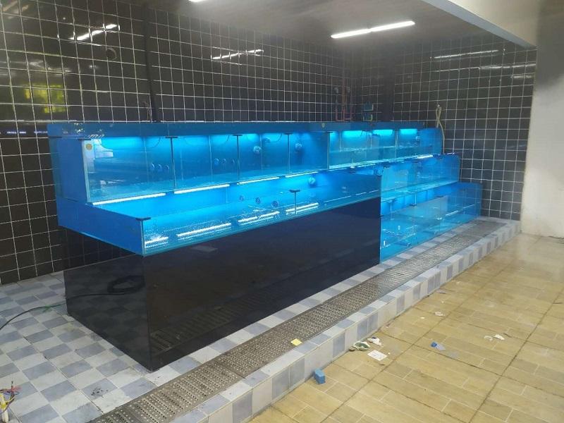 新超市海鲜池定制