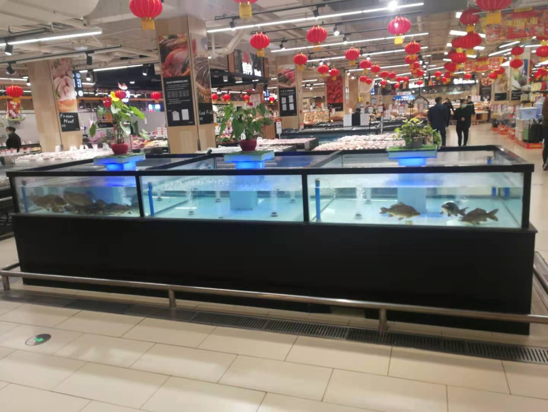 超市大型海鲜池定制