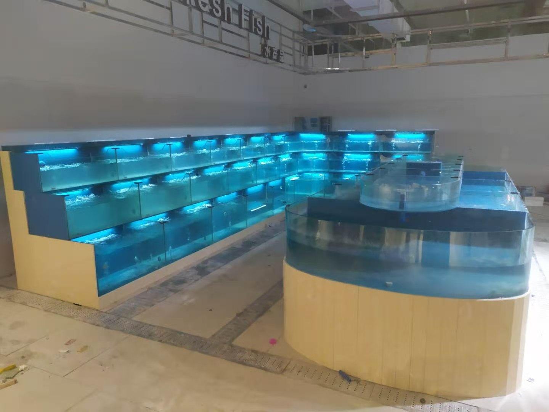 酒店海鲜池定制